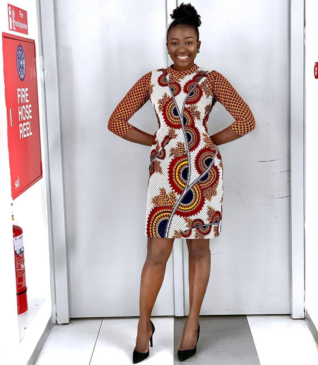 AFRICAN GOWNS SHIRT DRESS,LATEST ANKARA STYLES 6