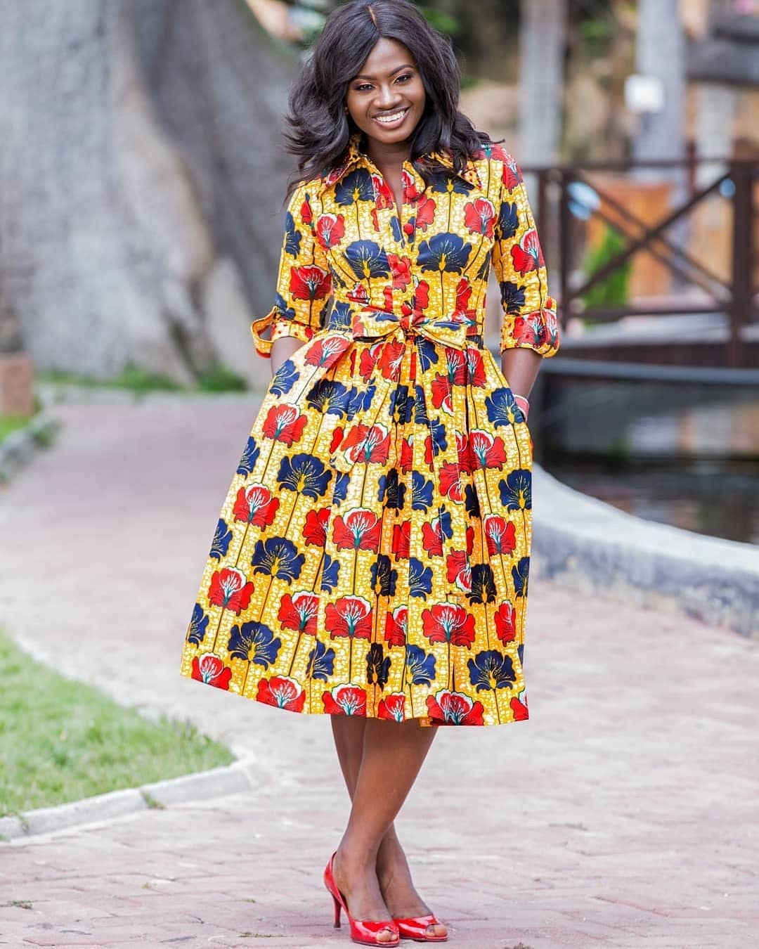 TOP STYLES, CHOOSING ANKARA DRESS TO YOUR EVENT! 2