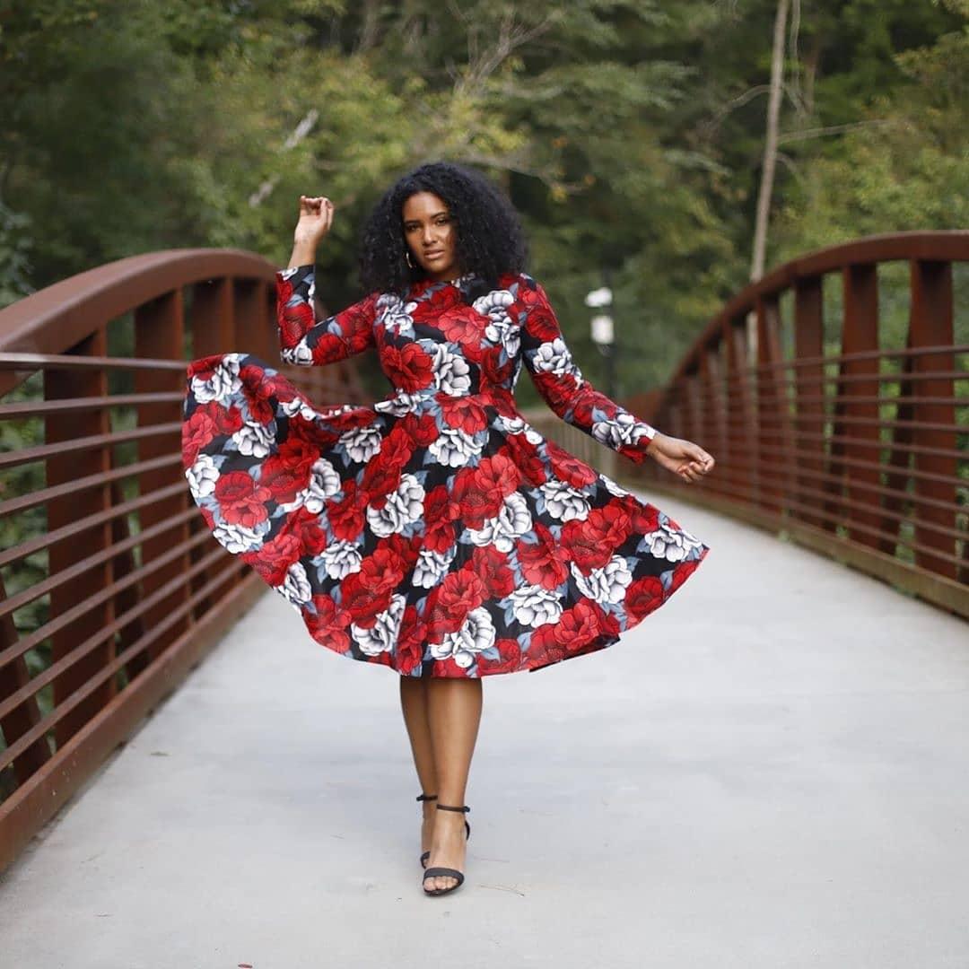 KITENGE FASHIONS, DRESSES THAT EVERY LADY LOVE 1