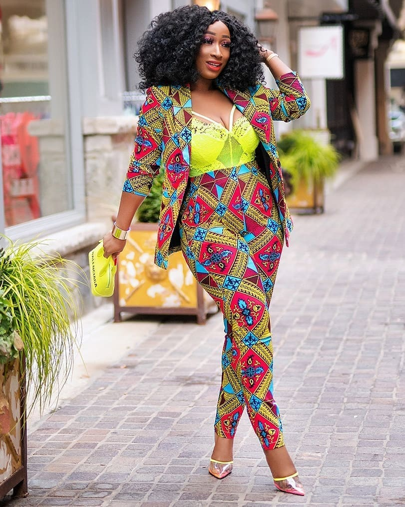 CURRENT ANKARA PANTS:LATEST FASHION TRENDS FOR WOMEN 4