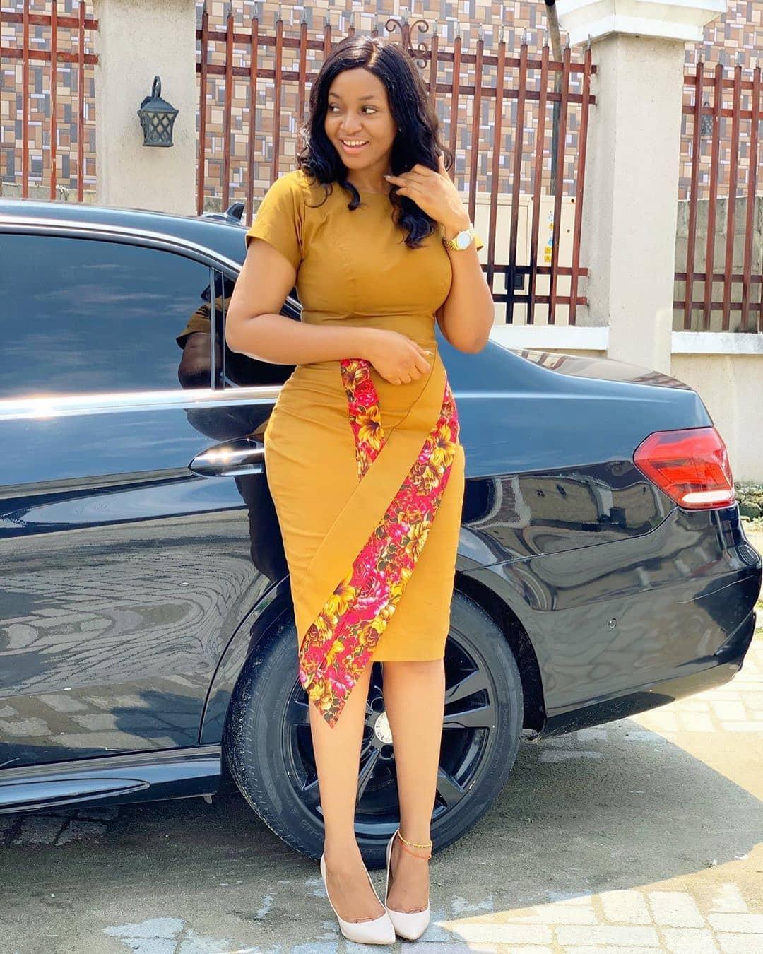 KITENGE FASHIONS, DRESSES THAT EVERY LADY LOVE 8
