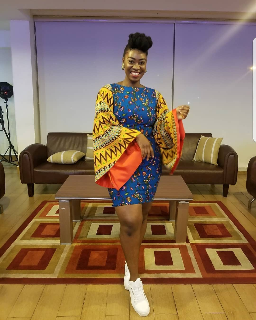 ANKARA SHIRT DRESS, SIMPLE STYLE,BUT PRACTICAL&ATTRACTIVE GOWNS STYLE 8