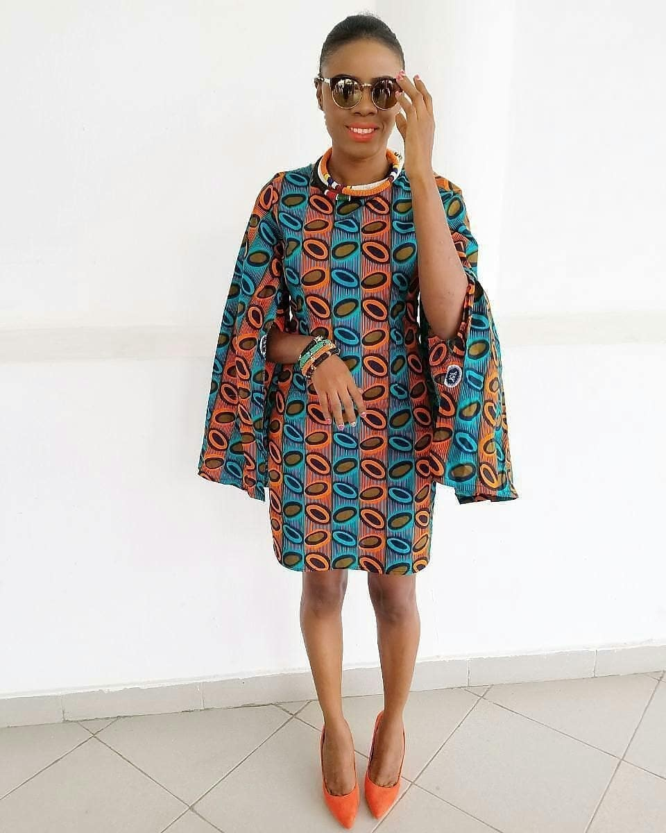 AFRICAN GOWNS SHIRT DRESS,LATEST ANKARA STYLES 4