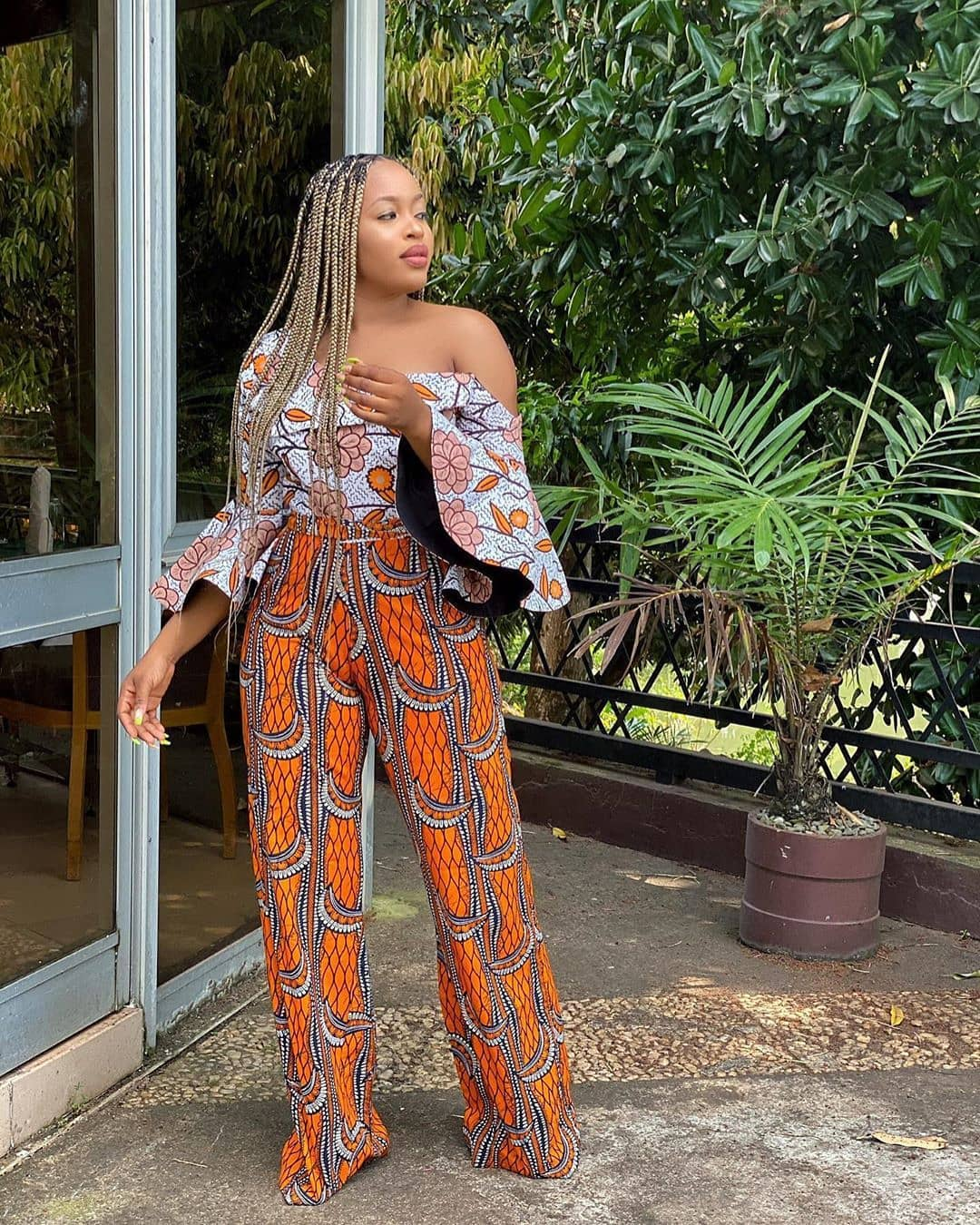 CURRENT ANKARA PANTS:LATEST FASHION TRENDS FOR WOMEN 3