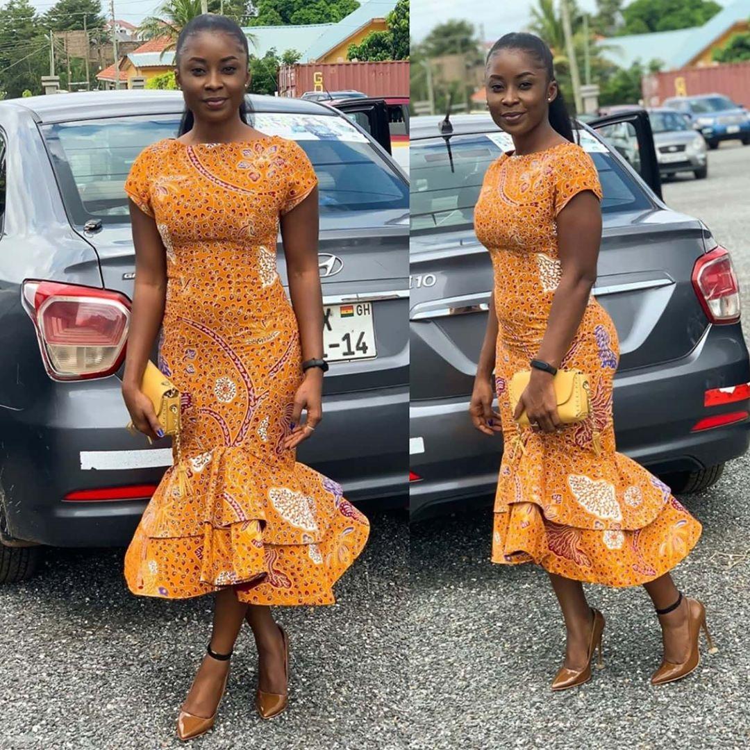 KITENGE FASHIONS, DRESSES THAT EVERY LADY LOVE 3
