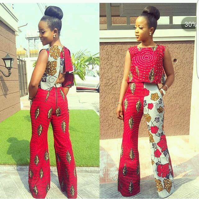 CURRENT ANKARA PANTS:LATEST FASHION TRENDS FOR WOMEN 5