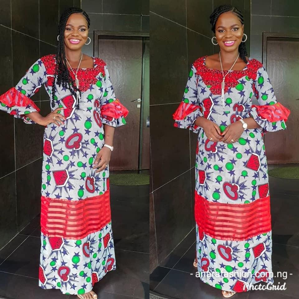 BEAUTIFUL NIGERIAN FASHION STYLES FOR WORK2020 5