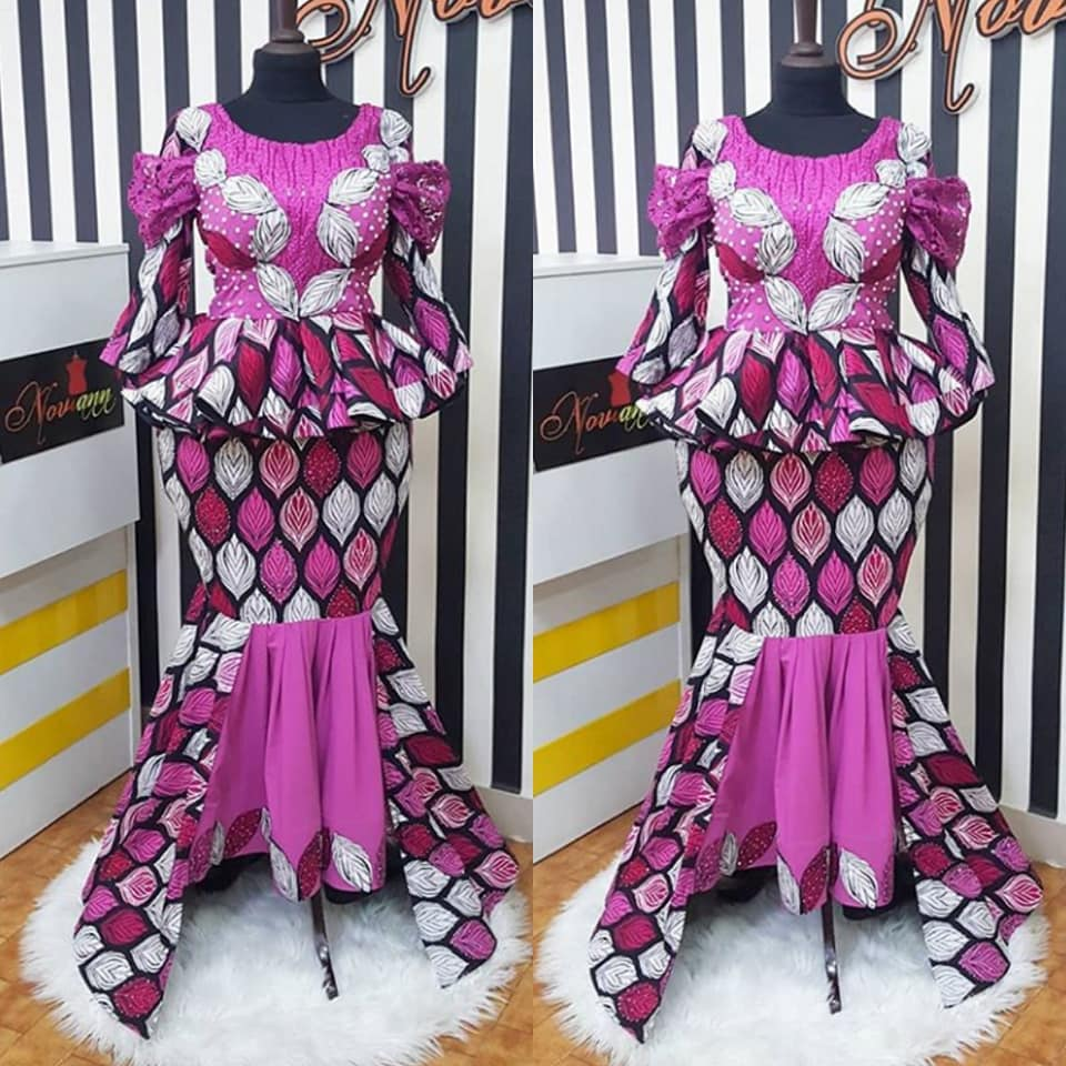 MAXI DRESS ANKARA STYLES