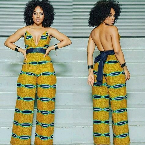 CURRENT ANKARA PANTS:LATEST FASHION TRENDS FOR WOMEN 6