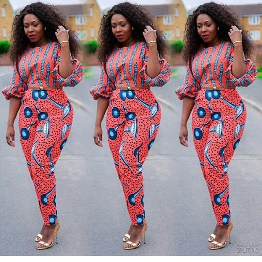 CURRENT ANKARA PANTS:LATEST FASHION TRENDS FOR WOMEN 8