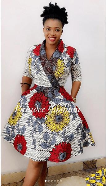 KITENGE FASHIONS, DRESSES THAT EVERY LADY LOVE 9