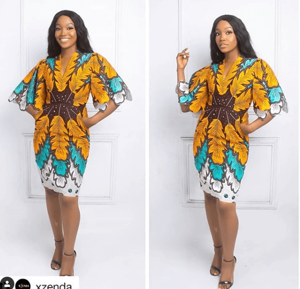 TOP STYLES, CHOOSING ANKARA DRESS TO YOUR EVENT! 10