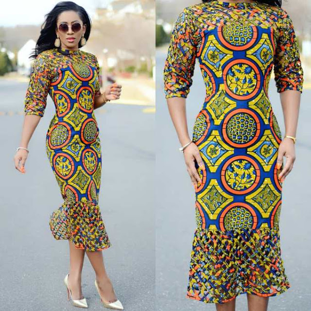 NEW FASHION STYLE, TRENDY AFRICAN DRESSES STYLES LOOKS NICE 6
