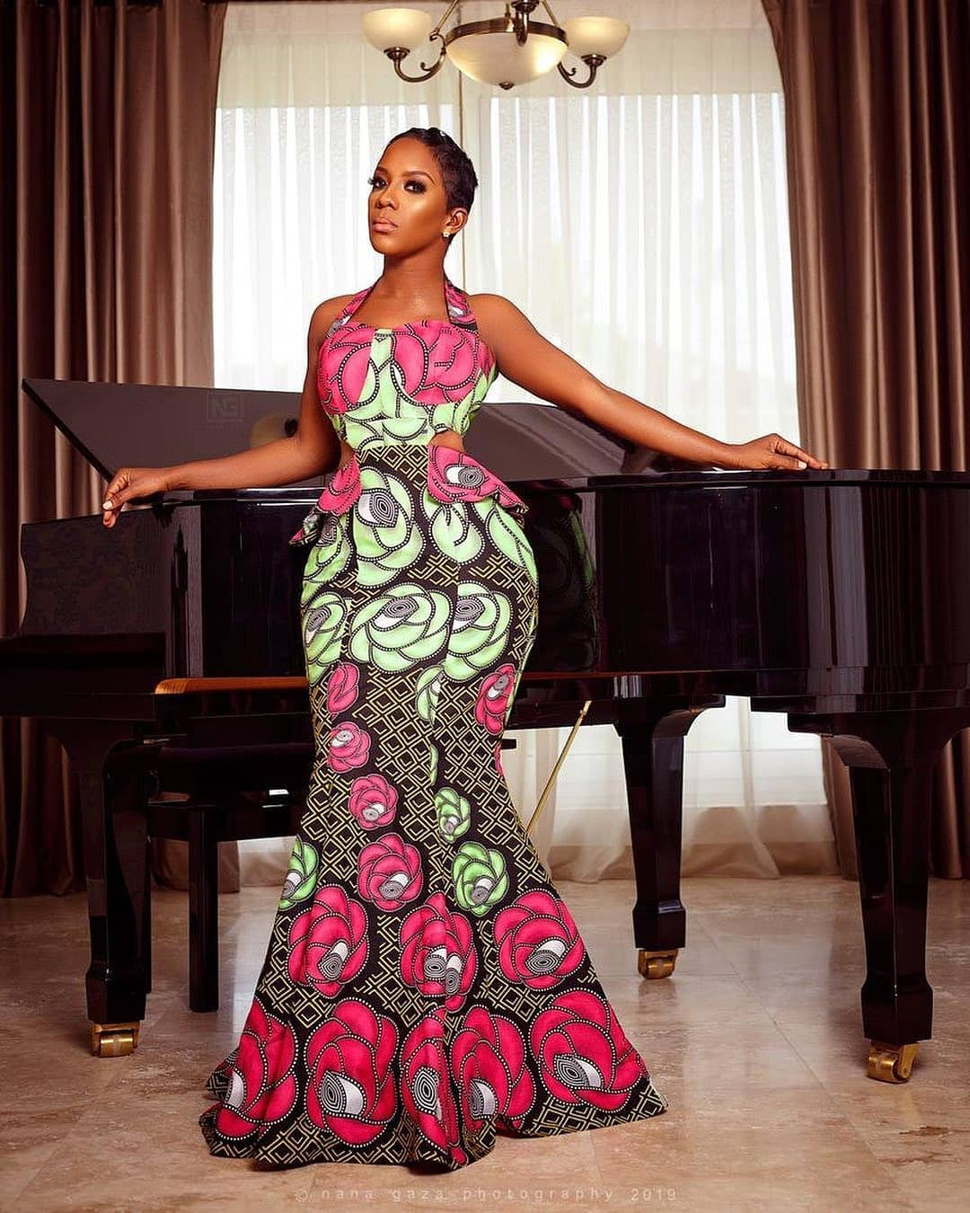SIMPLE ANKARA STYLES FOR AFRICAN LADY OUTSTANDING!2020 1