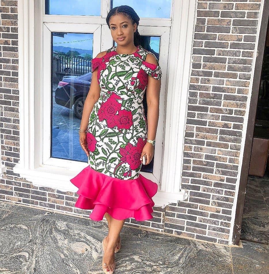 STYLISH ANKARA FABRICS ELEGANT NIGERIAN FASHION2020 2