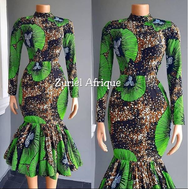 LATEST AFRICAN TRADITIONAL DRESSES ANKARA GOWNS STYLES2020 8