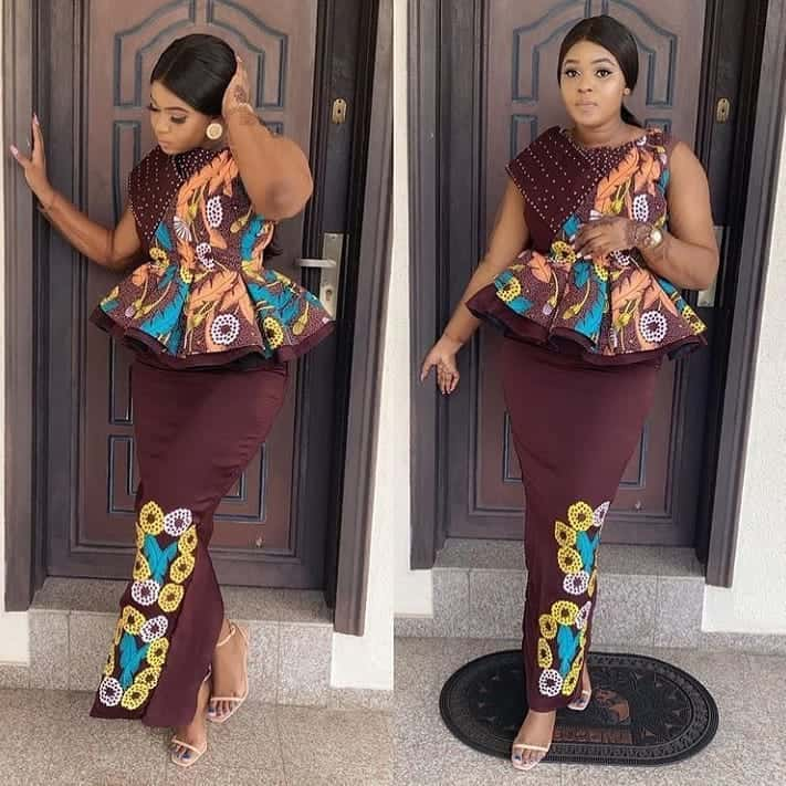 LATEST ANKARA STYLES AND DESIGNS FOR AFRICAN WOMEN2020 9