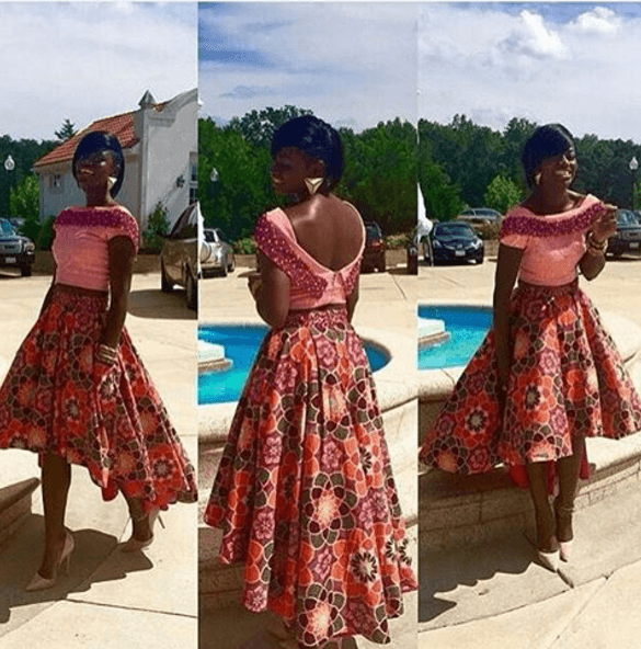 AMAZING ANKARA GOWNS STYLES  FOR AFRICAN WOMEN 3