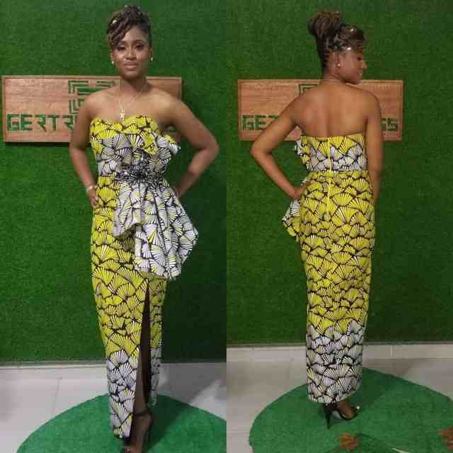 LOVELY ANKARA PRINTED DRESSES CHANGE YOUR LOOK 6