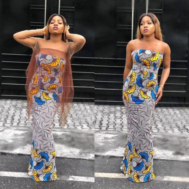 LOVELY ANKARA PRINTED DRESSES CHANGE YOUR LOOK 7