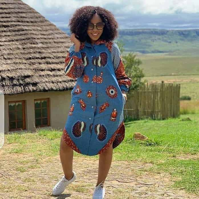 BEAUTIFUL ANKARA DRESSES WITH MODERN FABRICS 3