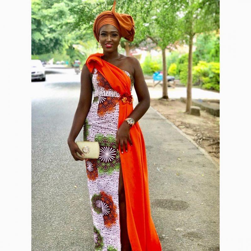 2020 MAXI ANKARA DRESSES FOR CHIC AND BEAUTIFUL LOOK 1