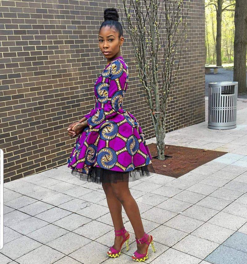 BEAUTIFUL ANKARA DRESSES WITH MODERN FABRICS